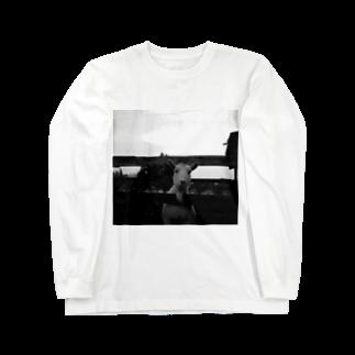 ねっころのさもありなんやぎ Long sleeve T-shirts