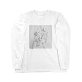 ベムの最期 Long sleeve T-shirts