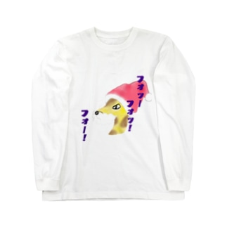 サンタキリンゴ Long sleeve T-shirts