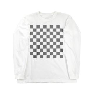 透明感のある Long sleeve T-shirts