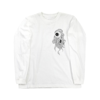 EYE(SMALL) Long sleeve T-shirts