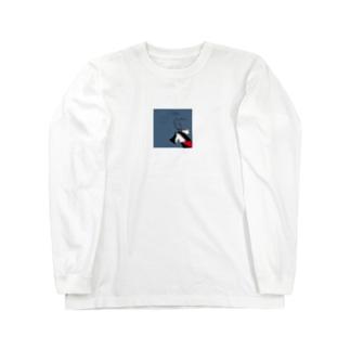 巫女@_miko Long sleeve T-shirts