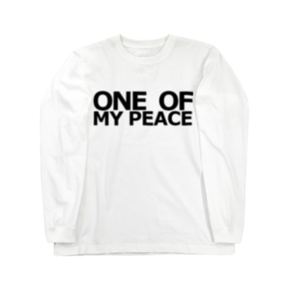 ONE OF MY PEACE Long sleeve T-shirts