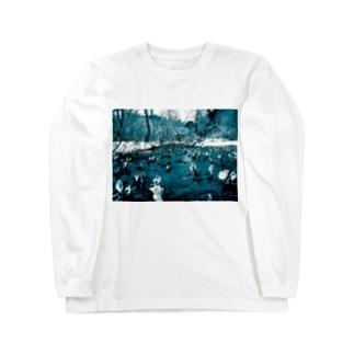 尾瀬 Long sleeve T-shirts