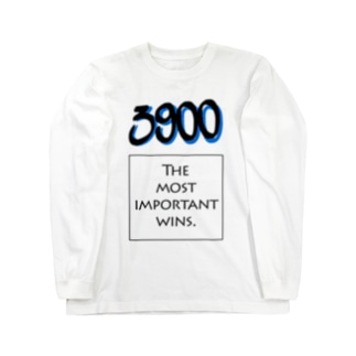POINTS - 3900 Blue Long sleeve T-shirts