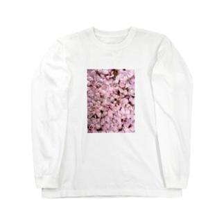 いつかの桜 Long sleeve T-shirts