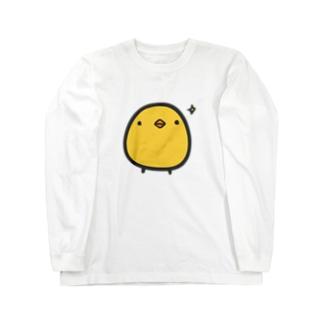 どや顔ひよこさん Long sleeve T-shirts