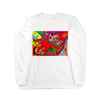 原始時代 Long sleeve T-shirts