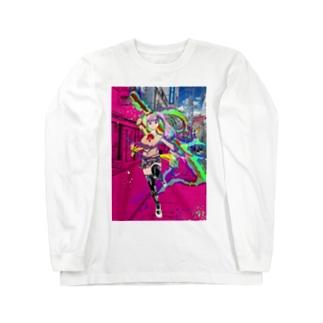 現代妖刀 Long sleeve T-shirts
