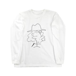 紳士くん Long sleeve T-shirts