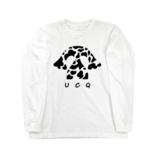 CQ-kun<UCQblack> Long sleeve T-shirts