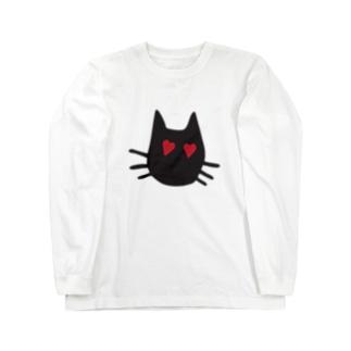 LOVE-cat Long sleeve T-shirts