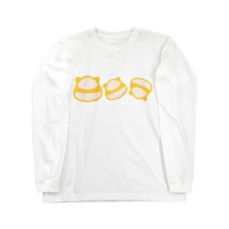 おにぎり? Long sleeve T-shirts
