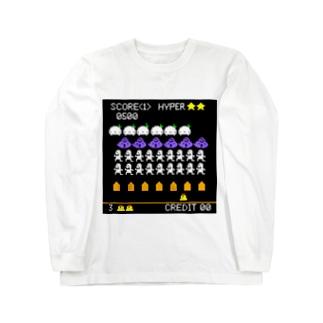 プリンをいんべーど☆ Long sleeve T-shirts