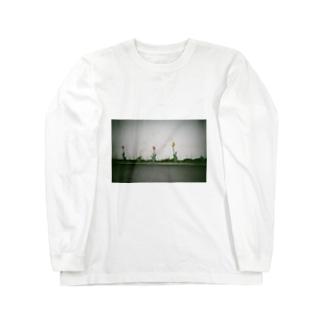 チューリップ Long sleeve T-shirts