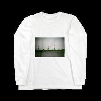 重曹のチューリップ Long sleeve T-shirts