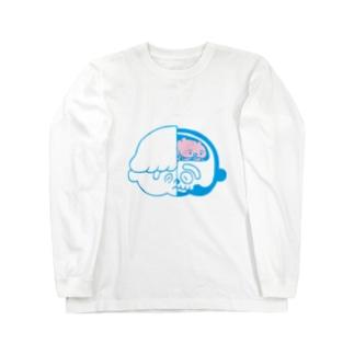 脳くん Long sleeve T-shirts