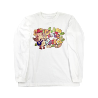Peanuts Rockちゃん Long sleeve T-shirts
