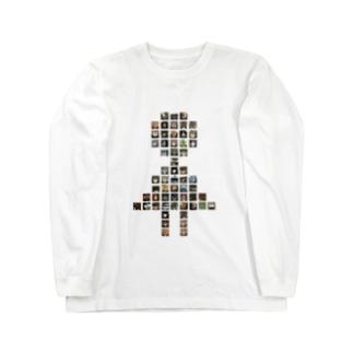 女子トイレ Long sleeve T-shirts