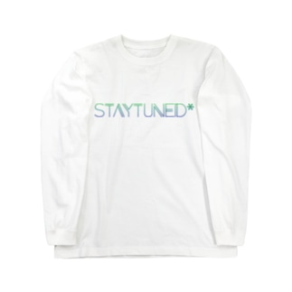 STAYTUNED* SIMPLE Long sleeve T-shirts