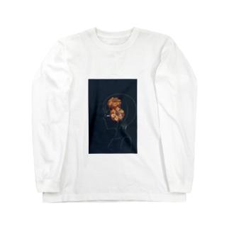 華 Long sleeve T-shirts