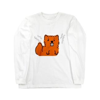 アオダイショウ Long sleeve T-shirts