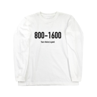 POINTS 800-1600 Long sleeve T-shirts