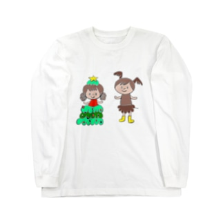 クリスマス Long sleeve T-shirts
