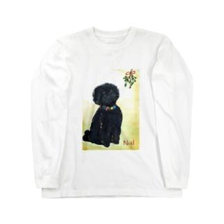 Hughのクリスマス Long sleeve T-shirts