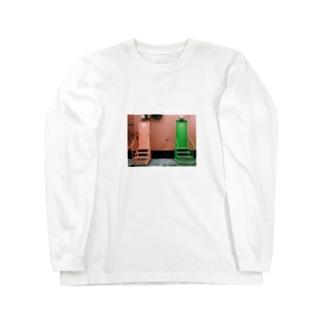 トイレ。 Long sleeve T-shirts