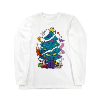 CALL MOLA 《Christmas tree》 Long sleeve T-shirts