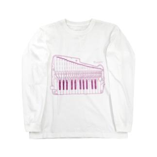 【冬の限定カラー】ピンクアンデス Long sleeve T-shirts