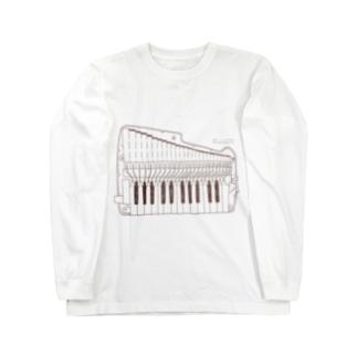 【冬の限定カラー】アンデスブラウン Long sleeve T-shirts