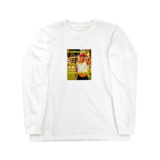 ポチャモデル4 Long sleeve T-shirts