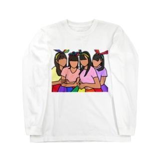 ももクロ Long sleeve T-shirts