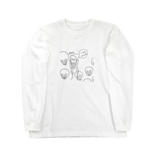 ムンク Long sleeve T-shirts