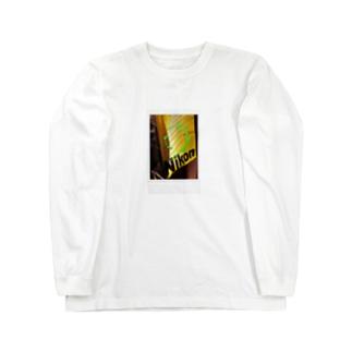 nikon ○ Long sleeve T-shirts