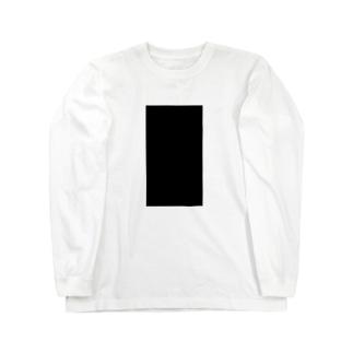 黒い海苔 Long sleeve T-shirts
