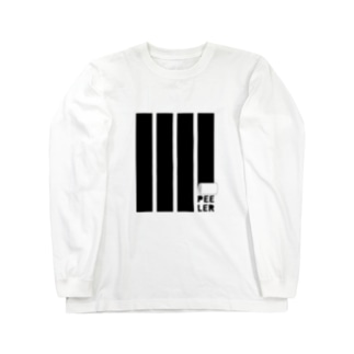 PEELER-08(BK) Long sleeve T-shirts