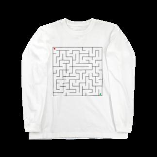 fandalの迷路 Long sleeve T-shirts