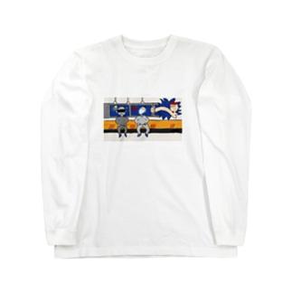 空席と穴 Long sleeve T-shirts