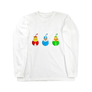 Caspar, Melchior and Balthazar.   Christmas baubles with Three Wise Men. Long sleeve T-shirts