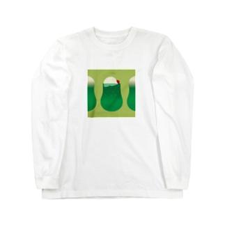 メロンソーダ Long sleeve T-shirts