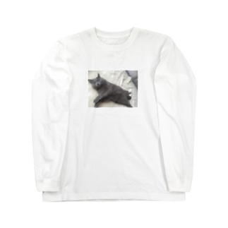 股間隠し Long sleeve T-shirts