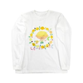 レモンケーキくん Long sleeve T-shirts