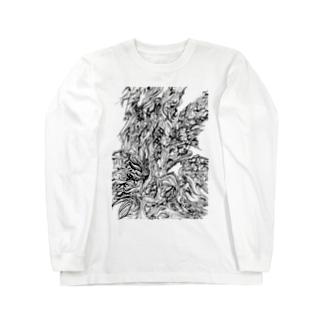 氷鋭 Long sleeve T-shirts