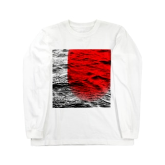 fine art 2(red) Long sleeve T-shirts