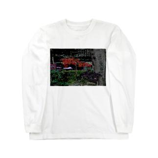 Digital_Leaf Long sleeve T-shirts