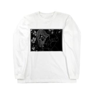 Mulberry Girl ~Black back~ Long sleeve T-shirts