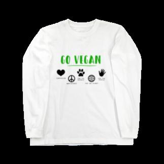 GO VEGANのGO VEGAN - ロンT A Long sleeve T-shirts